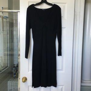NWOT-BISOU BISOU -BLACK KNIT DRESS